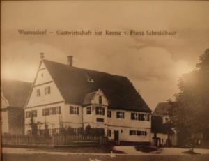 Historische Ansicht Wirtschaft Schmidbaur Stegwirt Gasthof Zur Krone Westendorf